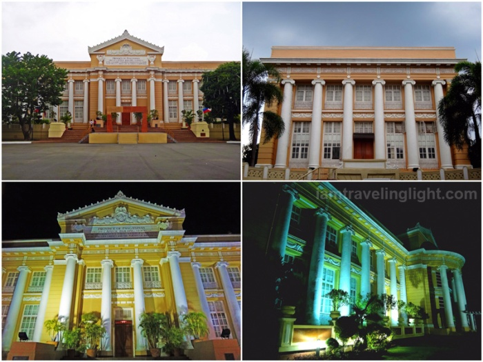 provincial capitol, most beautiful capitol building in the Philippines, pre-World War 2 architecture, columns, Lingayen, Pangasinan