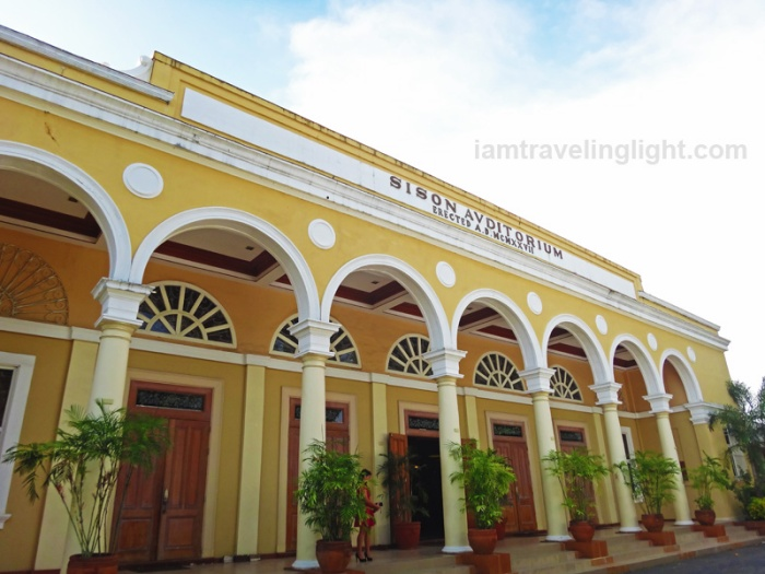 Sison Auditorium, arches, pre-World War 2 American architecture, Lingayen, Pangasinan