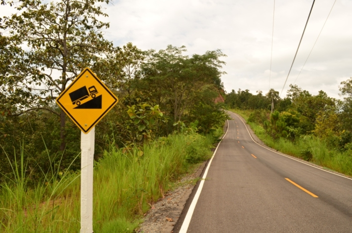 know meaning of words caption finding thrill motorbiking through steep slopes in chiang mai, thailand