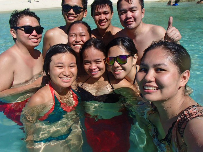 Calaguas moment with friends old and new