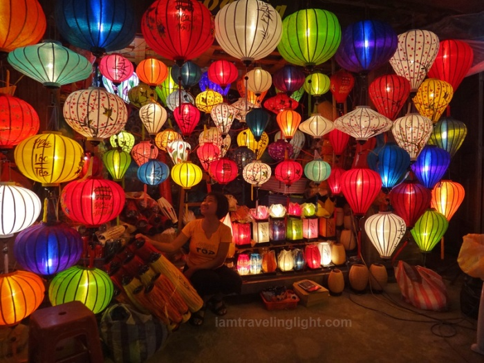 Magical and colorful paper lanterns, Hoi An, Vietnam