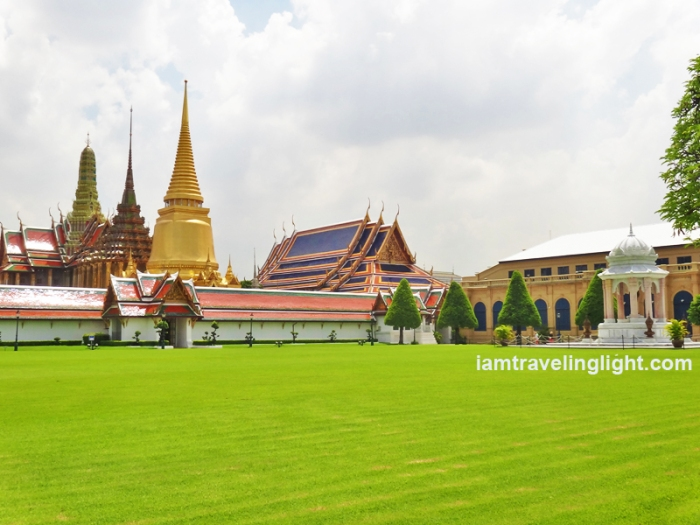 Free view of Grand Palace, if no ticket, Bangkok, Thailand