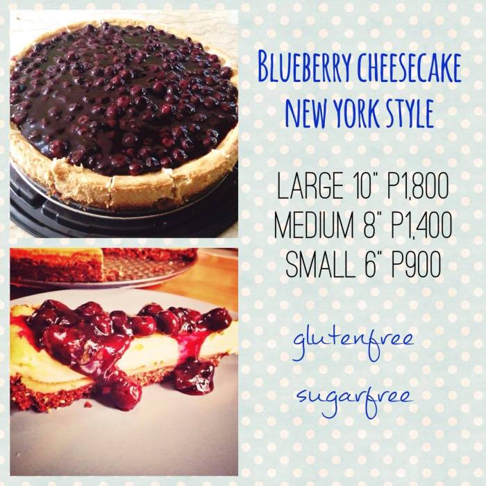 Jay blueberry cheesecake new york style