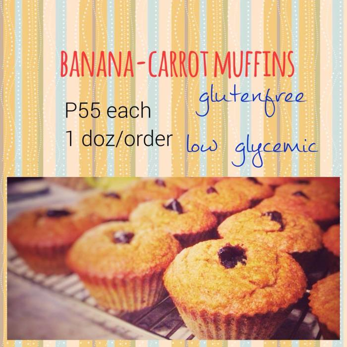 Jay carrot muffins