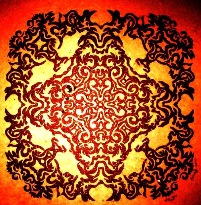 Papercut art. Salimbay 9 by Sinag de Leon