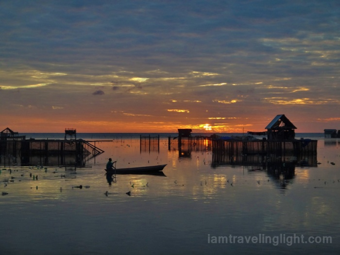quiet sunrise by the sea, Sibutu Island, Tawi-tawi, Philippines