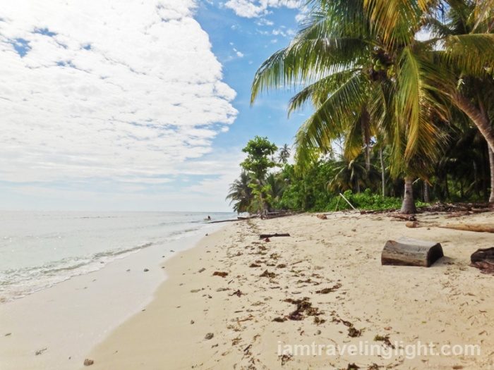 Sibutu unspoiled white beach, long shore, long beach, Tawi-tawi, Mindanao