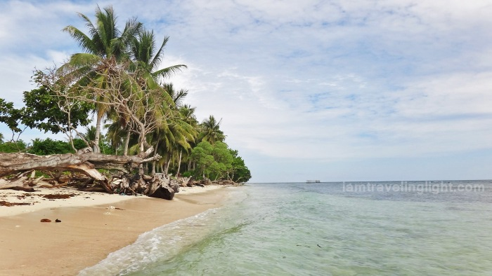 Sibutu unspoiled white beach, long shore, Tawi-tawi, Mindanao