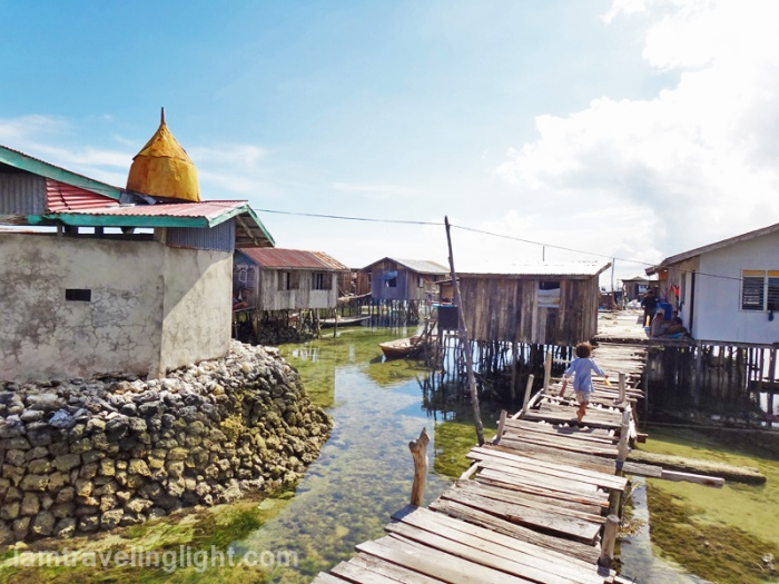 stilt houses, floating village, Tandu Owak, Sibutu, Tawi-tawi, Philippines