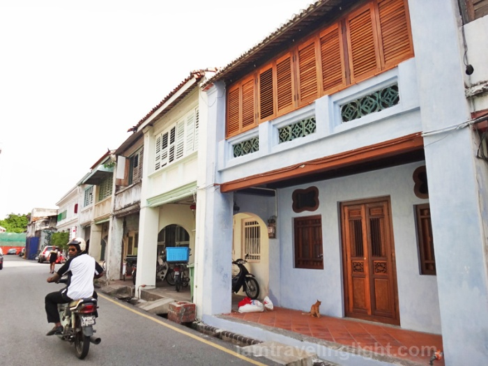 old houses, Penang, architecture, heritage, Malaysia