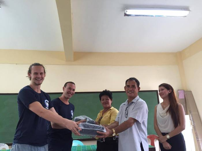 25-handing-out-school-materials-donation-to-balabag-national-high-school-party-for-a-cause-charity-mad-monkey-hostel-luxury-backpacker-boracay-bolabog-beach