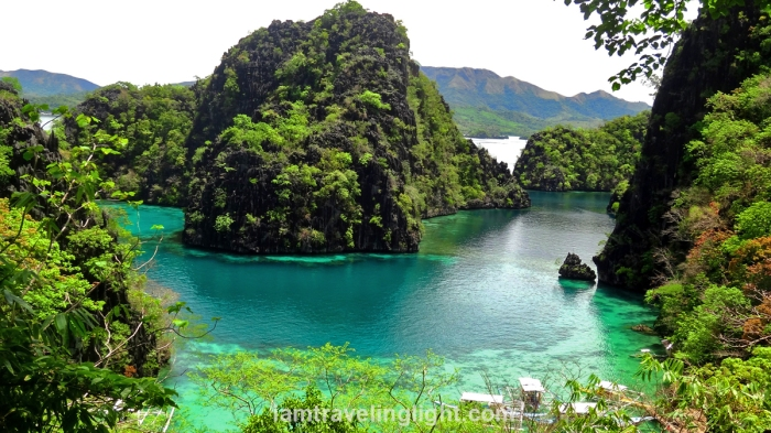 palawan-coron-classic-view-near-kayangan-lake-area