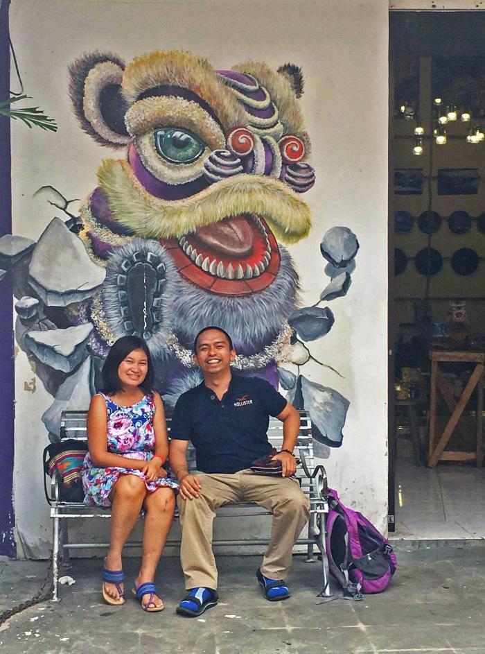 penang-street-art-lion-purple-georgetown-malaysia