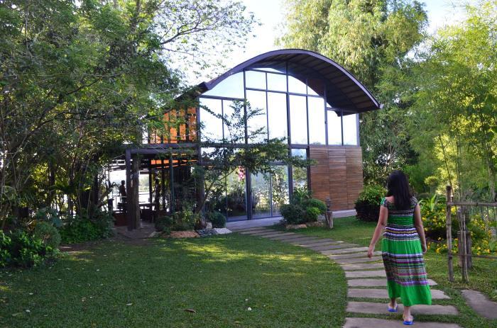 family-glass-house-grass-chilling-san-rafael-river-adventure-bulacan