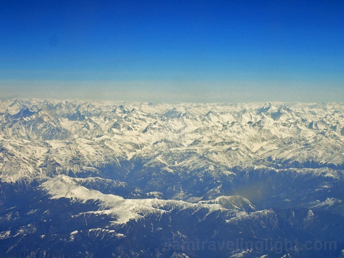 Himalayas mountain range close up shot, tail end winter, view from the plane, flight to Leh Ladakh, Kashmir, from New Delhi, India.jpg