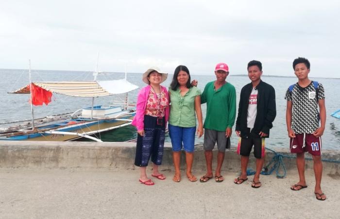 Alibijaban Island, Quezon boat, family, homestay, sendoff.jpg