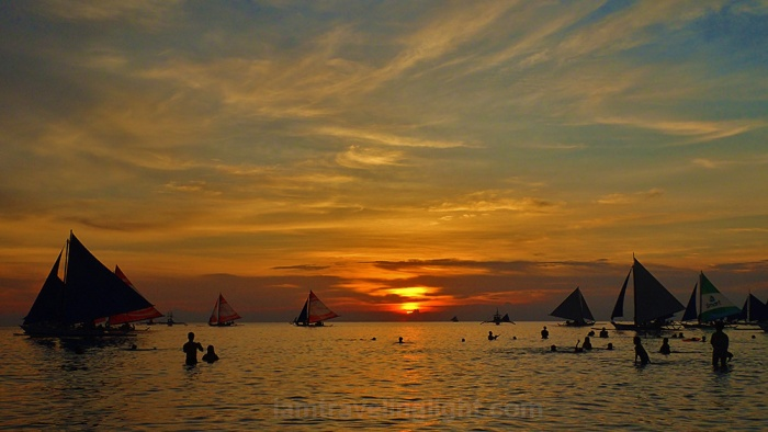 Boracay sunset, paradise, world's best island, most beautiful island, paraw, sailboat.jpg