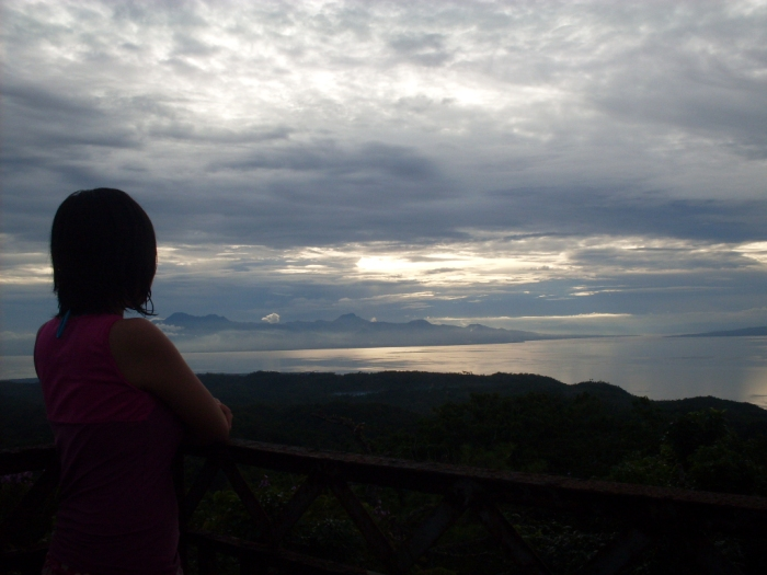 Siquijor, Mount Bandilaan viewpoint, sea, island, mountains