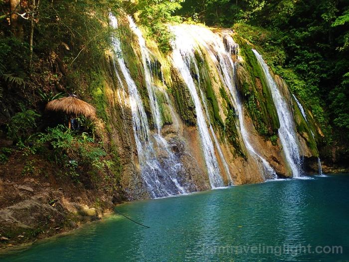 Daranak Falls, Tanay, Rizal, blue-green waterfall, aqua, near Manila.jpg