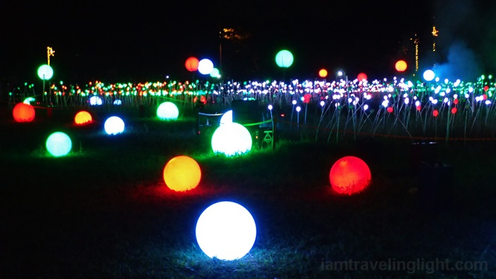 olympus digital camera - Christmas Light Spheres