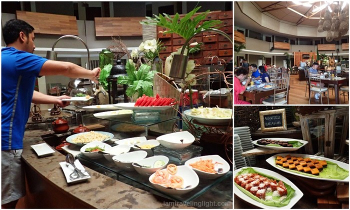 buffet breakfast, Filipino food and more, Oriental Bataan, hotel, Mariveles, Export Processing Zone
