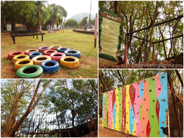 Oriental Bataan, hotel, Mariveles, exterior, outdoor, teambuilding facilities, obstacle course, wall climbing, hanging bridge, rope bridge, relay, Export Processing Zone