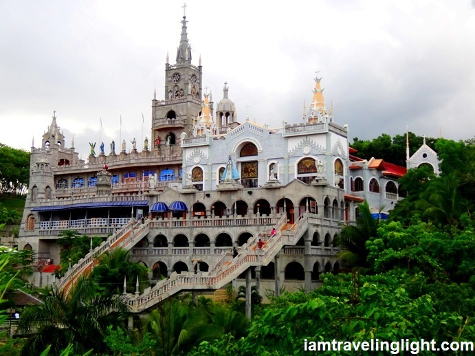 miraculous simala shrine, sibonga, cebu, philippines