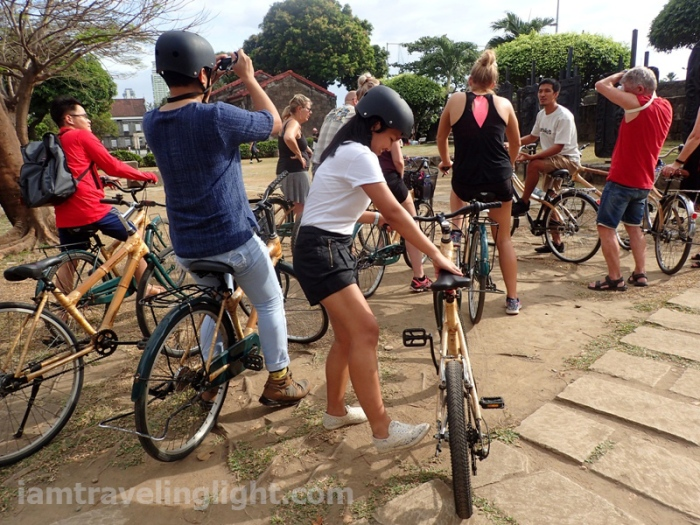 Bambike, bamboo bike tour, eco-friendly tour, Intramuros, Manila.JPG