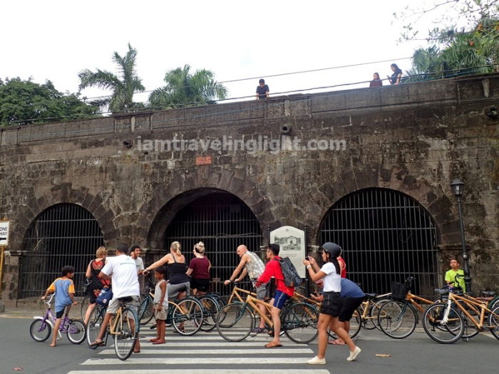 Bambike, guided tour, bamboo bike tour, eco-friendly tour, Intramuros, Manila.JPG