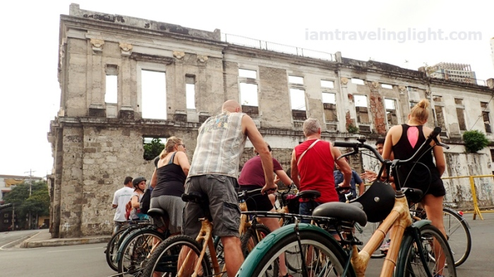 Bambike, ruins, bamboo bike tour, eco-friendly tour, Intramuros, Manila.JPG