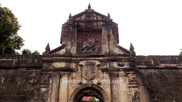 Fort Santiago entrance, ruins, Bambike bamboo bike tour, eco-friendly tour, Intramuros, Manila.JPG