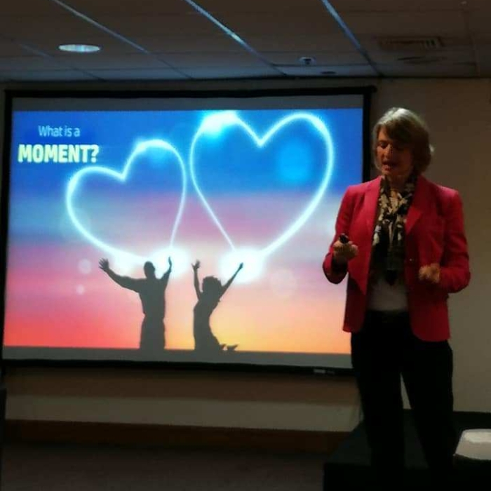HP photo print presentation - what is a moment