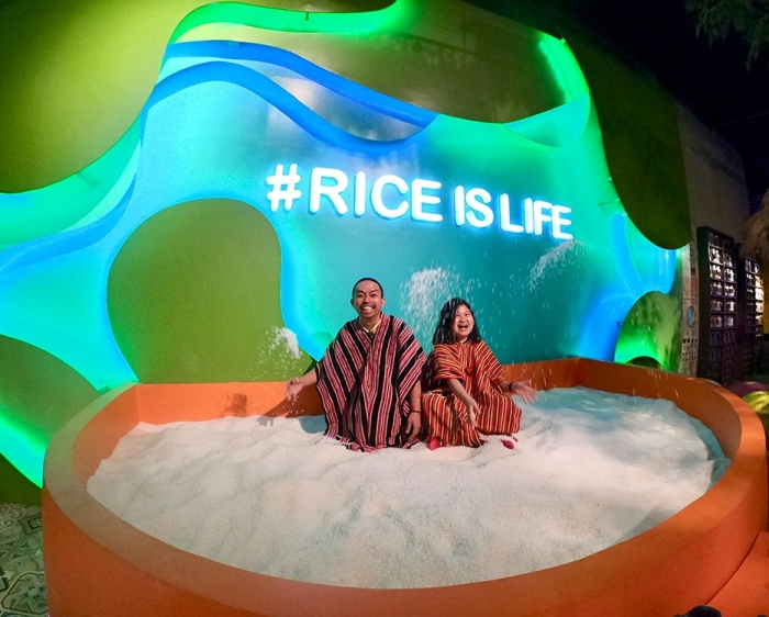 giant rice bowl, interactive, Lakbay Museo, travel museum, food museum, culinary, Philippines, Visayas, Mindanao, Metro Manila