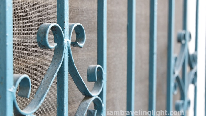 photo assignment, gate grills and patterns, lines and shapes