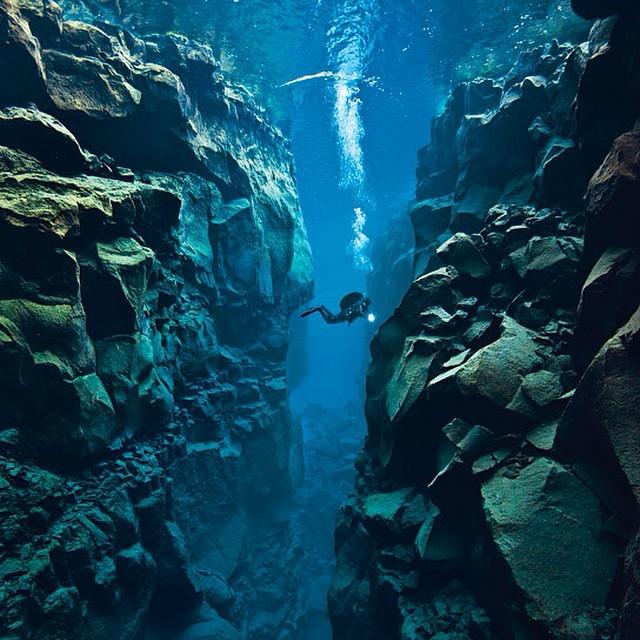 Silfra Canyon, Iceland