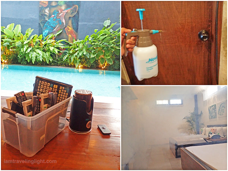 COVID cleaning and disinfection protocols, COVID safe travel, pool, hot spring resort, Casa Tropica, Pansol, Laguna