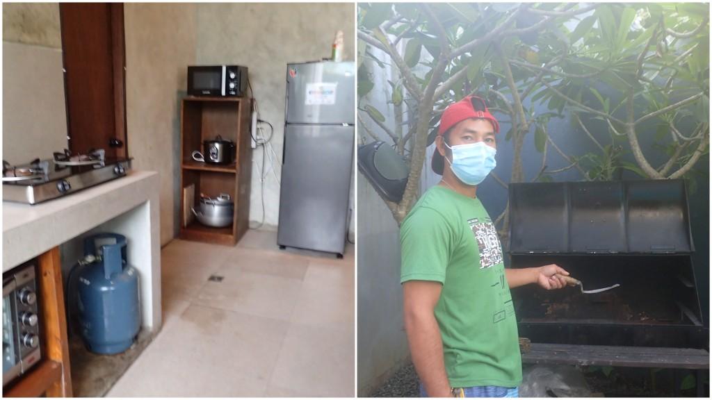 kitchen, grill for roasting, Casa Tropica, Pansol, Laguna hot spring, resort, pool
