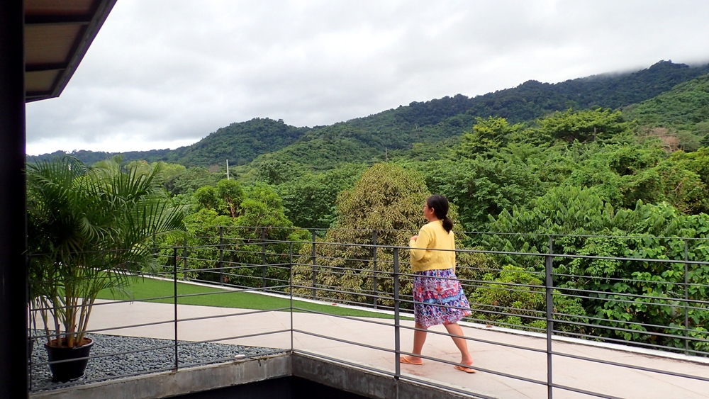 Mount Makiling view deck, pool, hot spring resort, Casa Tropica, Pansol, Calamba, Laguna