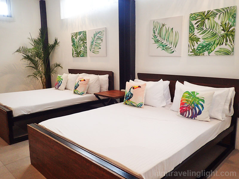 tropical-themed bedroom, Casa Tropica, hot spring resort, private pool, architecture, Pansol, Calamba, Laguna