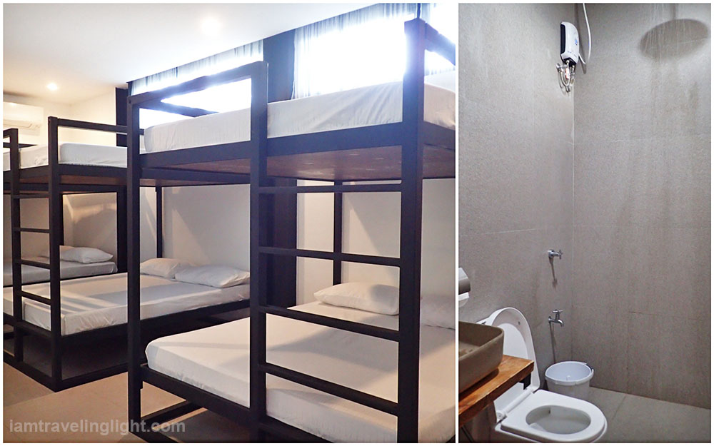 wide double deck beds, bathroom with rainshower, Casa Tropica, hot spring resort, private pool, architecture, Pansol, Calamba, Laguna